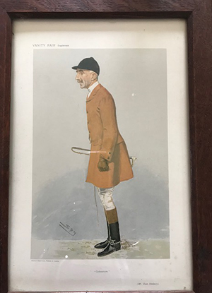 Framed Vanity Fair Supplement Spy Print – £25