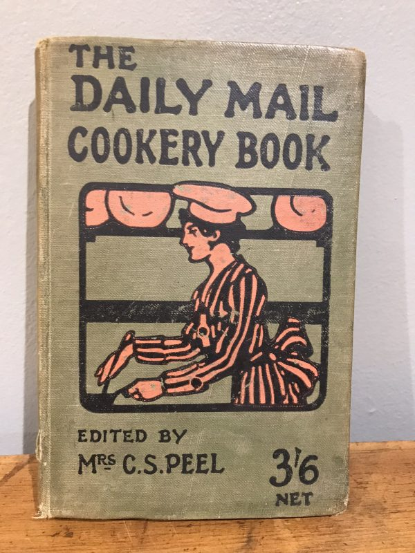 Vintage 1919 The Daily Mail Cookery Book – Sold