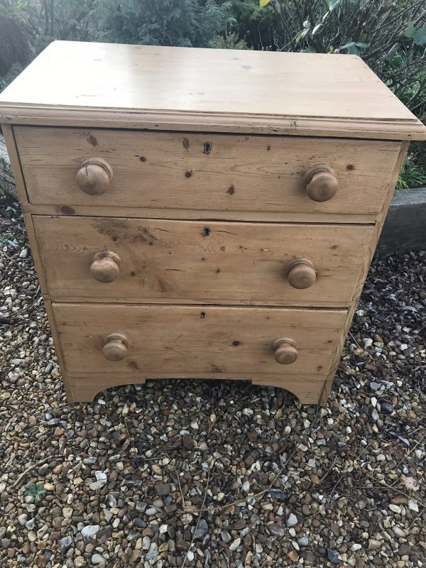 Small Pine Chest of Drawers – SOLD