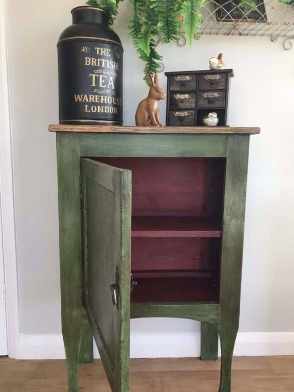 Vintage Shabby Chic Cupboard Painted in Annie Sloan Paint – Sold