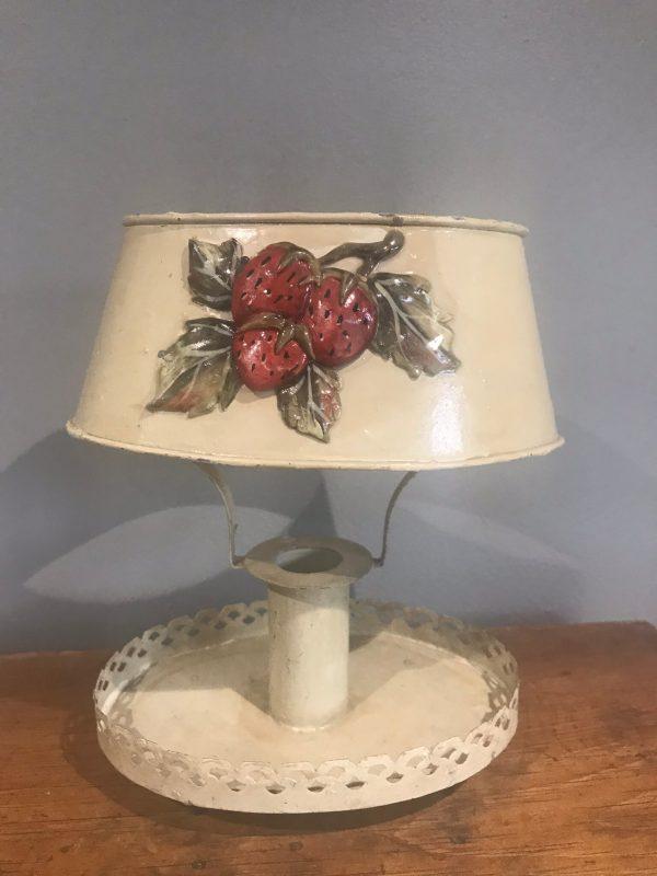 Vintage Toleware Candle Holder – Sold