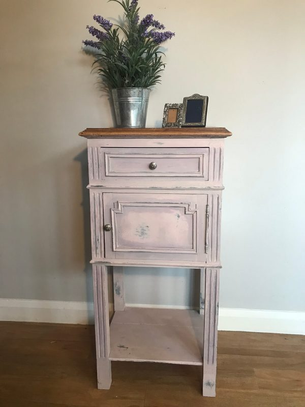 Antique Painted French Cabinet – £68