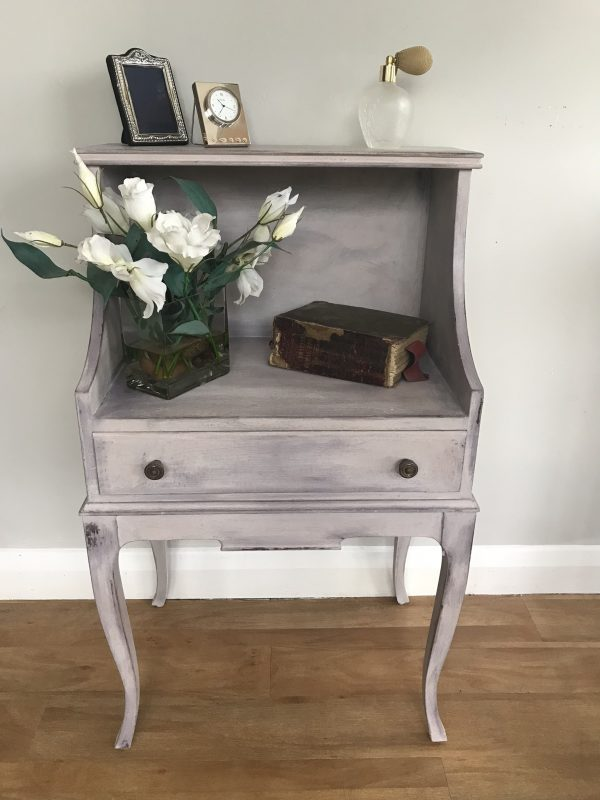 Upcycled Painted Bedside/Hall Table – Sold