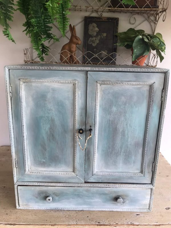 Vintage Painted Cupboard – Sold