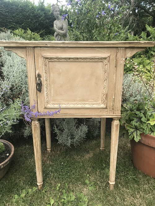 Antique Bedside Cabinet – Sold