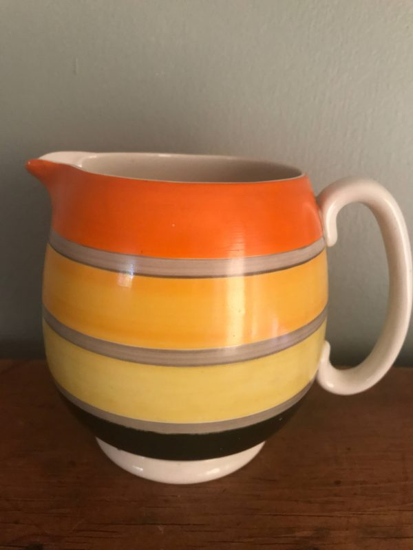 Susie Cooper Grays Pottery Banded Milk Jug – Sold