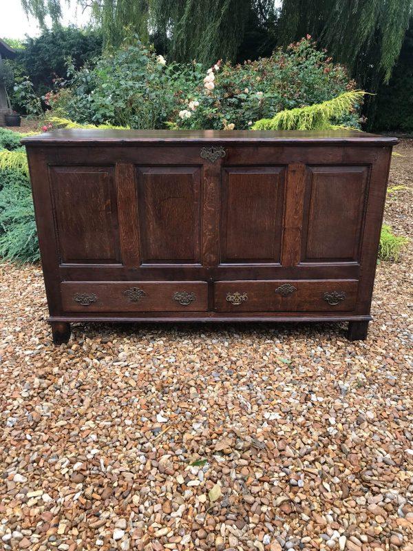 Georgian Oak Mule Chest -£400