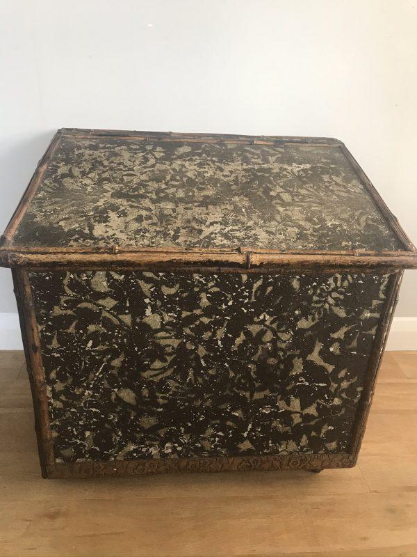 Vintage Log Box on Castors – £50