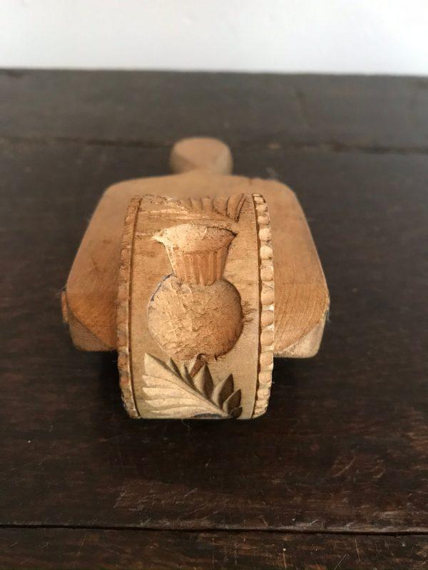 Antique Treen Butter Roller/Marker – Sold