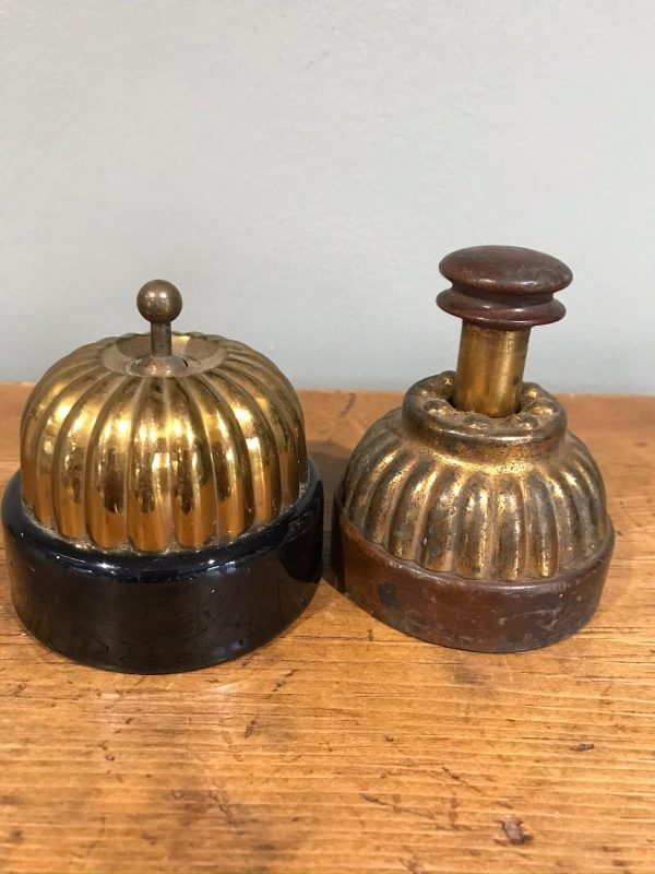 Antique Old Jelly Mould Dolly Light Switch and ?Dimmer – Sold