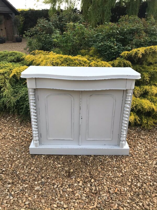 Shabby Chic Painted Antique Chiffonier Base – Sold