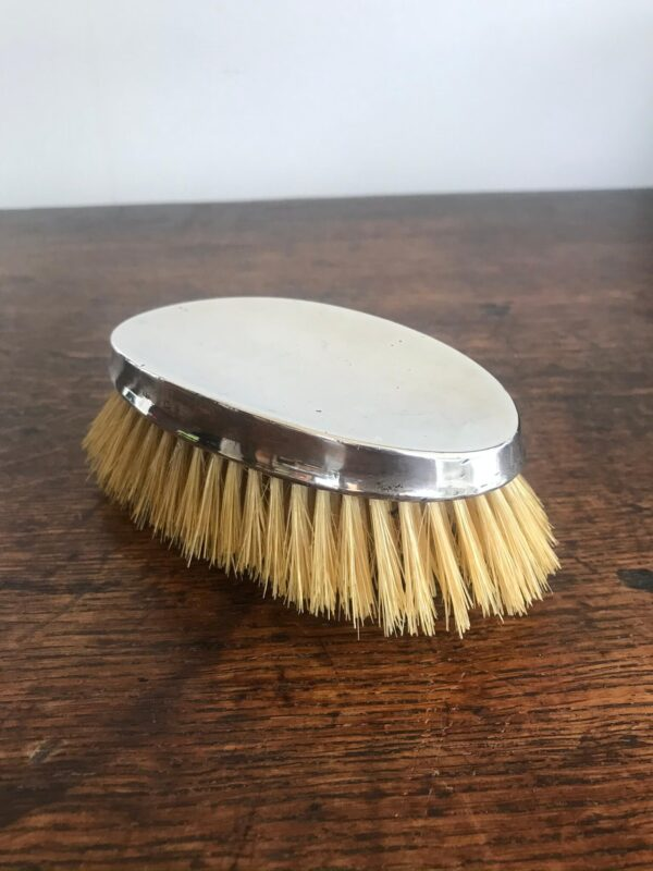 Antique Silver Backed Hair Brush Birmingham 1938 – Sold