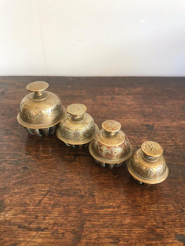 Four Graduated Elephant Bells – Sold