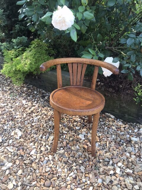 Vintage Childs Bentwood Chair Thonet Style – £70