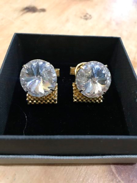 1960s 1970s Retro Wrap Around Cufflinks – Sold