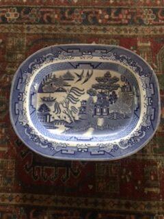 19th Century Willow Pattern Platter – £48