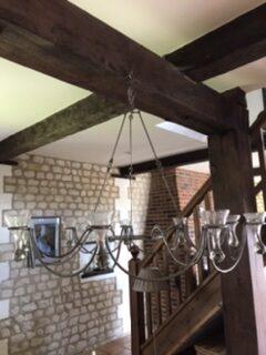 Stunning Hanging Candelabra – £185